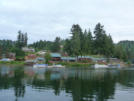 Lake Mayfield  Marina Resort & RV Park : The beautiful Resort & RV Park