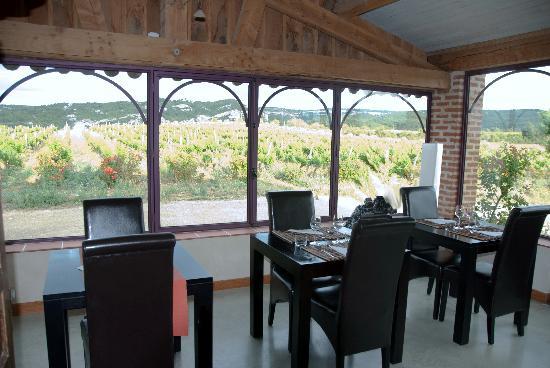 Chateau La Sabine: le restaurant