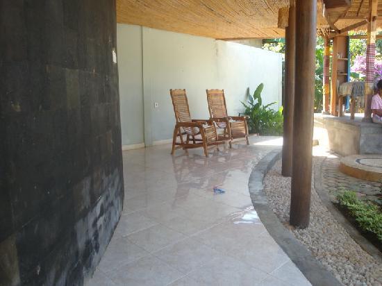 Rigils Lembongan Bungalows: massage area