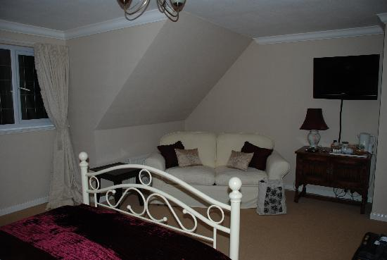 Rowan House Bed and Breakfast: Flat Screen, Wifi, what else do you need at Rowan House