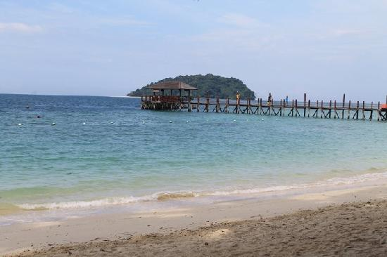 1 City Hotel: view to expect at Manukan island
