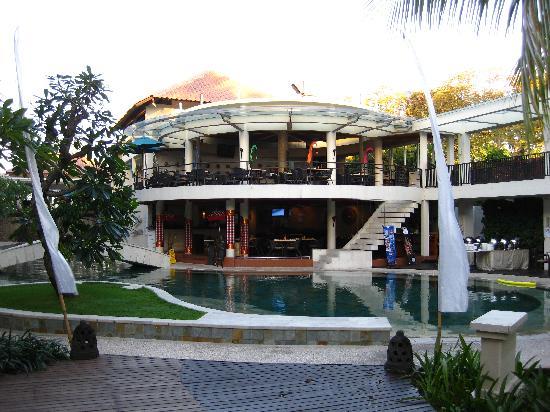 The Camakila Legian Bali: Azaa rastaurant viewed from the grounds
