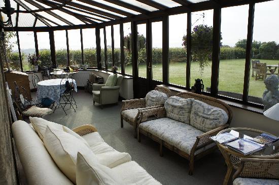 Bilton Barns: conservatory
