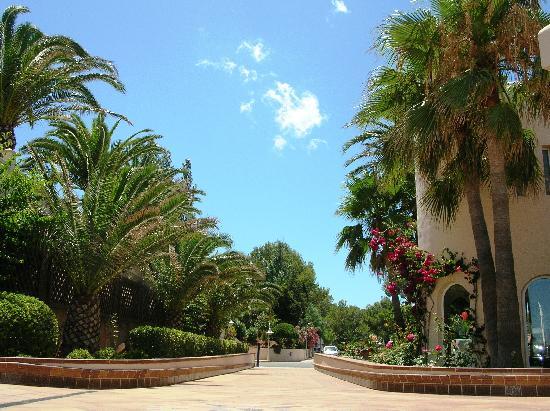 Invisa Hotel Club Cala Verde : Vista terrazza