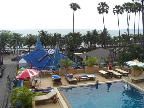 The New Eurostar Jomtien Beach Hotel & Spa: pool