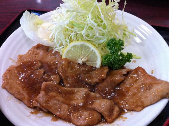 Hokuyokan: しょうが焼定食