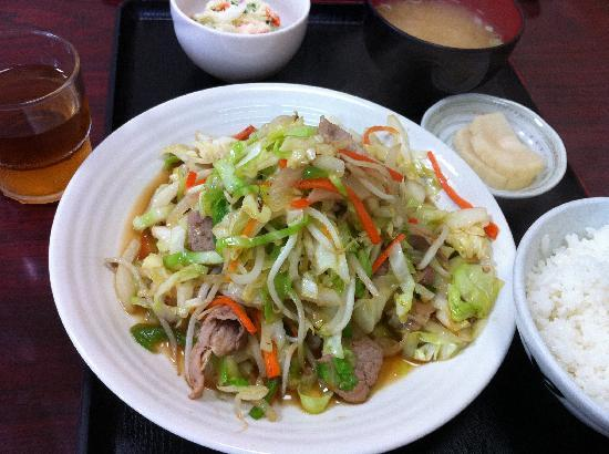 Hokuyokan: 野菜炒め定食