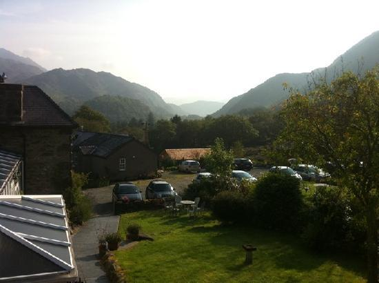 Sygun Fawr Country House: View from room 11