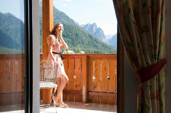 Cristallo Hotel: View