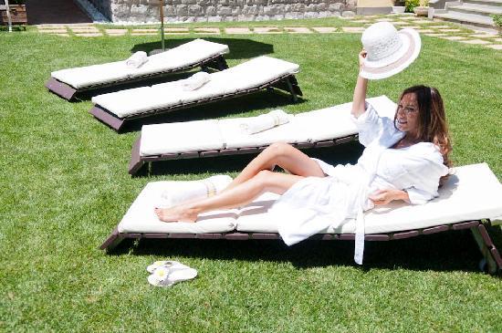 Cristallo Hotel: Garden