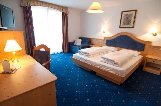 Cristallo Hotel: Zimmer