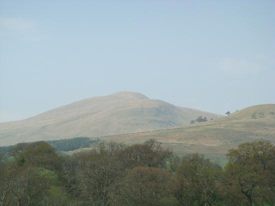 Ben Lawers Hotel: Meall Greigh from our bedroom window