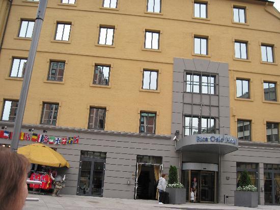 Scandic Oslo City : Außenansicht