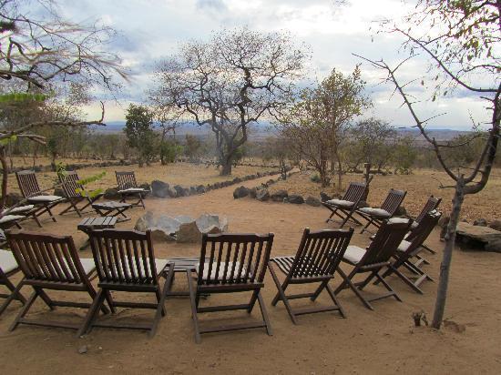 Kikoti Safari Camp: The camp fire