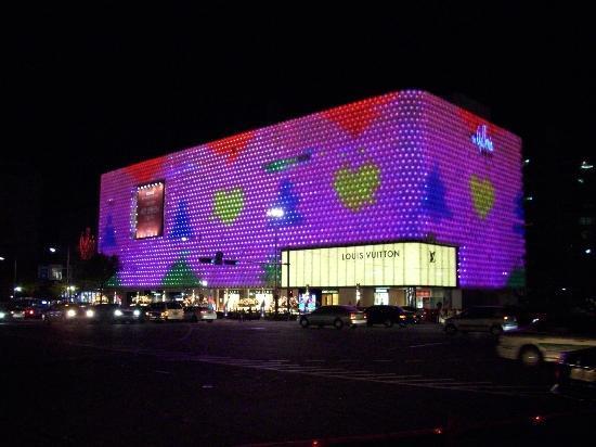 夜景2 Picture Of Apgujeong Rodeo Street Seoul Tripadvisor