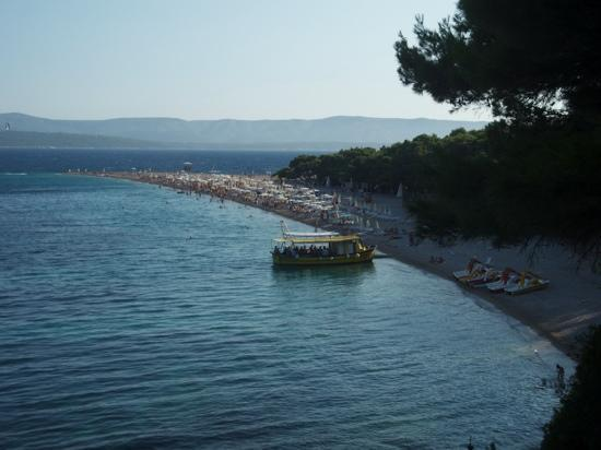 Bluesun Resort Bonaca: zlatni rat (goldenes Horn)