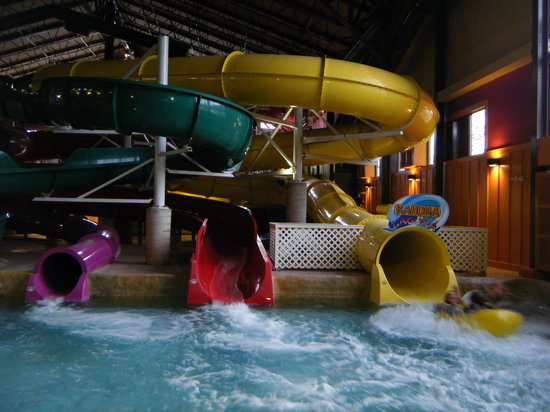 North Conway, NH: 4 water slides