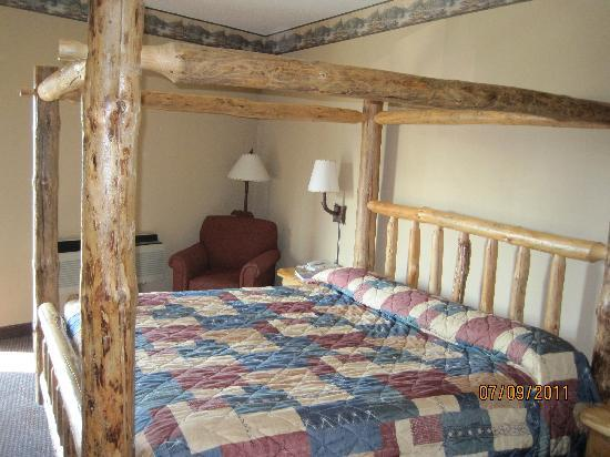 King Bed In Privite Room Picture Of Great Wolf Lodge