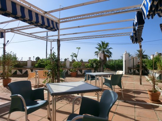 Las Camelias: The restaurant's terrace