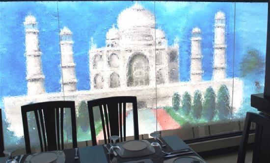Legend of India: Taj Mahal backdrop