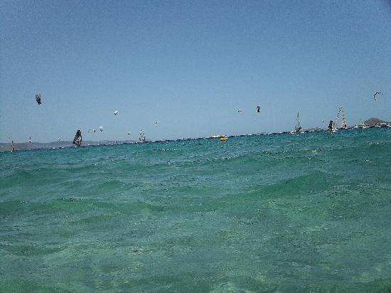 Mikri Vigla, Grecia: Kiteserfing