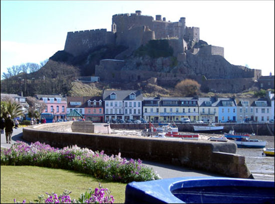 View from Gorey Village promanade