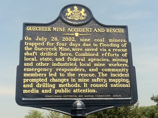 Quecreek Mine Rescue Site