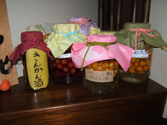 Jubei: 食前酒で供されていたのはこの自家製果実酒かも♪