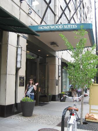 Homewood Suites by Hilton Chicago-Downtown: Entrance