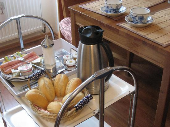 Pension VITIS: Breakfast