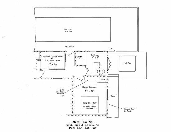Berkshires Shirakaba Guest House: Matsu No Ma Suite 418 s.f.