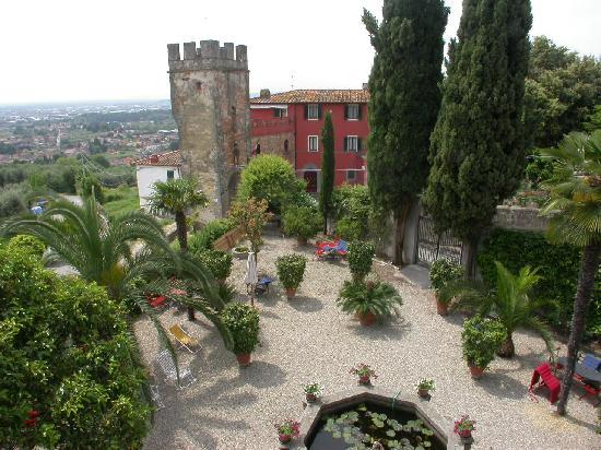 Villa Sermolli dalla Limonaia