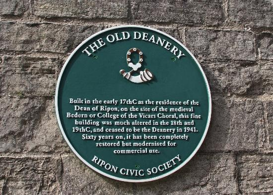 The Old Deanery: The history