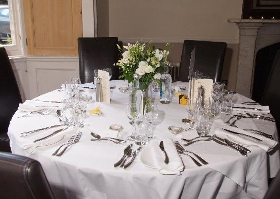 The Old Deanery: Table all set up
