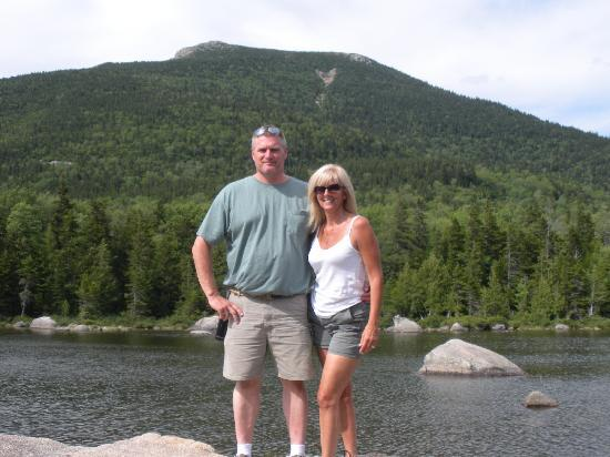 Katahdin Cabins: Me and Allen, Sandy Stream Pond