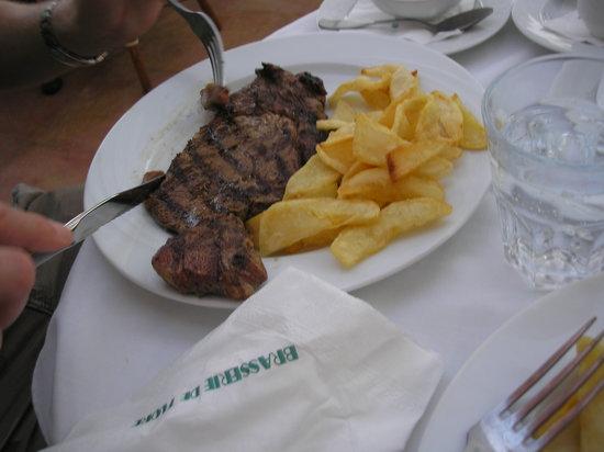 Brasserie de Flore: eines der vielen Gerichte