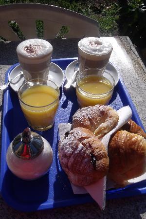 Hotel Lodi: Petit déjeuner