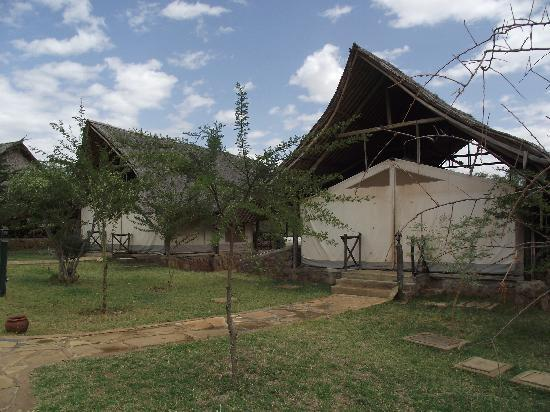 Man Eaters C& Outside the tents & Outside the tents - Picture of Man Eaters Camp Tsavo - TripAdvisor
