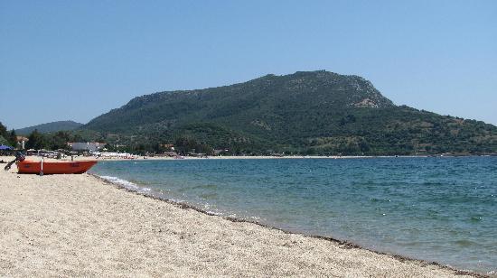Toroni, Grčka: the beach