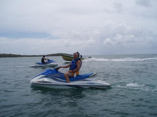 Island Flight Adventures Jet Ski Rentals and Tours: great ride