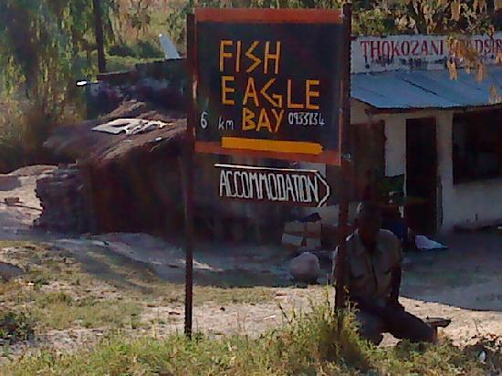 Fish Eagle Bay Lodge (sign on main road)