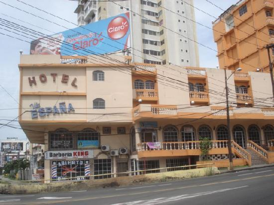 Hotel Via Espana: ホテル外観