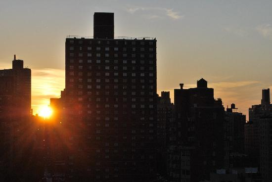 The Marmara Manhattan: Great sunsets!