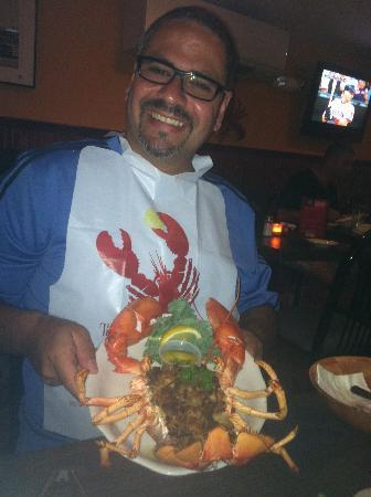 Topside Grill and Pub: Stuffed Lobster