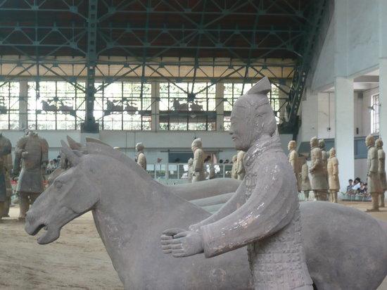 Xi'an Eight Wonders Museum: Seitenansicht im hinteren Museumsteil