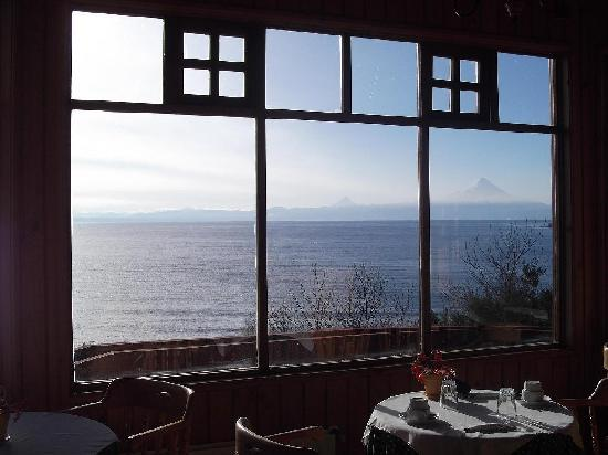 Hotel Elun : Vista desde el restaurant