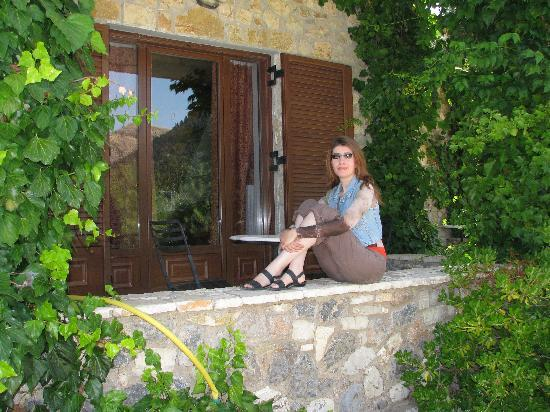 Georgio's V Chalet : My wife, Maria, posing for me...