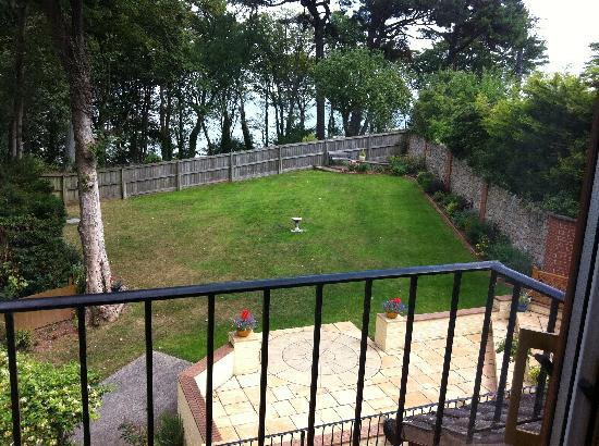 The Beeches B&B: View from twin room