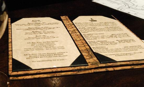 Woodinville, WA: The flatbread and wine tasting menu