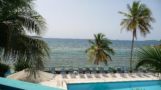 Watergate Villas: Beautiful view of the ocean